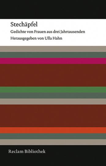 Stechäpfel. Gedichte von Frauen aus drei Jahrtausenden.