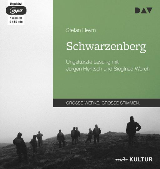Stefan Heym. Schwarzenberg. Ungekürzte Lesung. 1 mp3-CD.