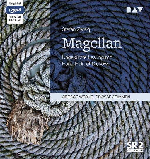 Stefan Zweig. Magellan. mp3-CD.