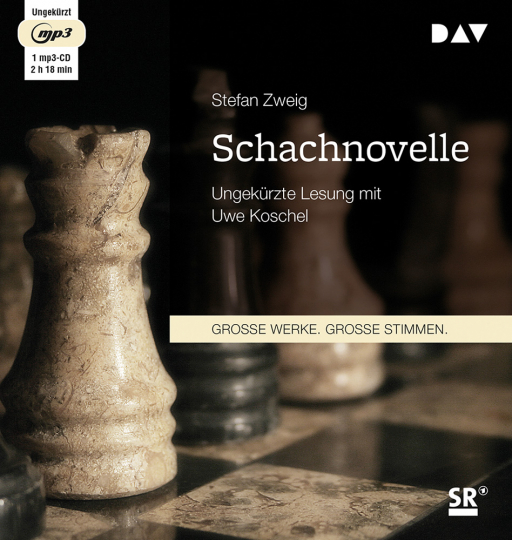 Stefan Zweig. Schachnovelle. mp3-CD.