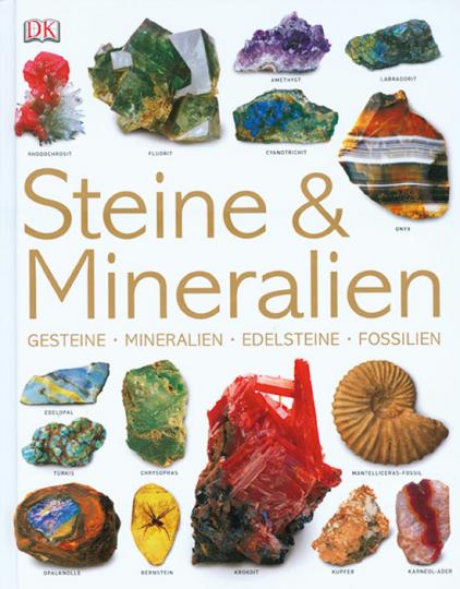 Steine und Mineralien. Gesteine, Mineralien, Edelsteine, Fossilien.
