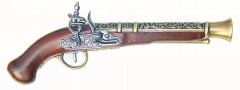 Steinschloß-Pistole (Deko)