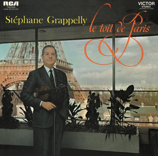Stéphane Grappelli. Le Toît De Paris. CD.