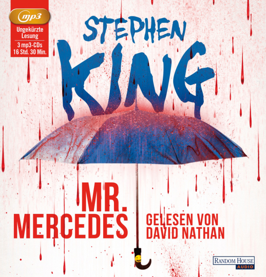 Stephen King. Mr. Mercedes. 3 mp3-CDs.