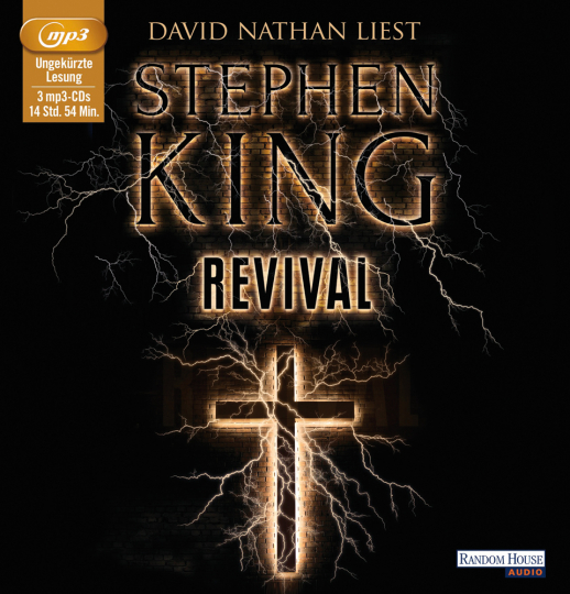 Stephen King. Revival. 3 mp3-CDs.