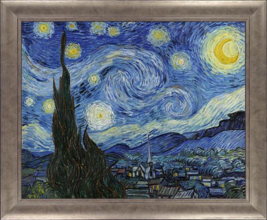 Sternennacht. Vincent van Gogh (1853-1890).