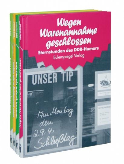 Sternstunden des DDR Humors 4 Bände