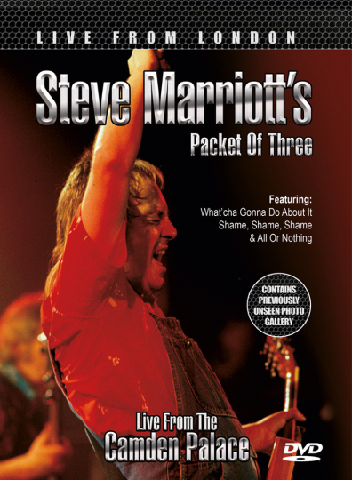 Steve Marriotts Packet Of Three. Live From London. DVD.