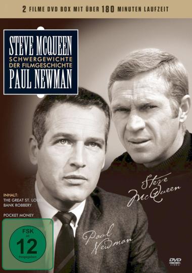 Steve McQueen & Paul Newman. DVD.