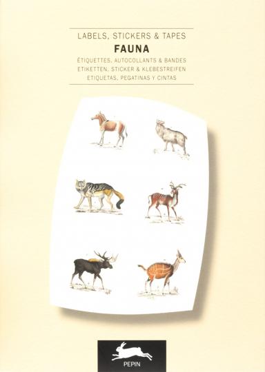 Sticker und Etiketten »Fauna«.