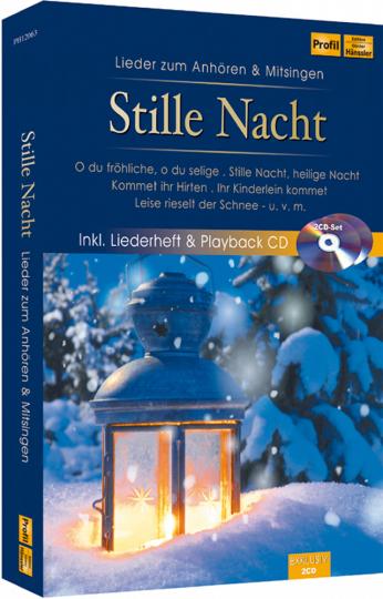 Stille Nacht 2 CDs - Lieder zum Anhören und Mitsingen