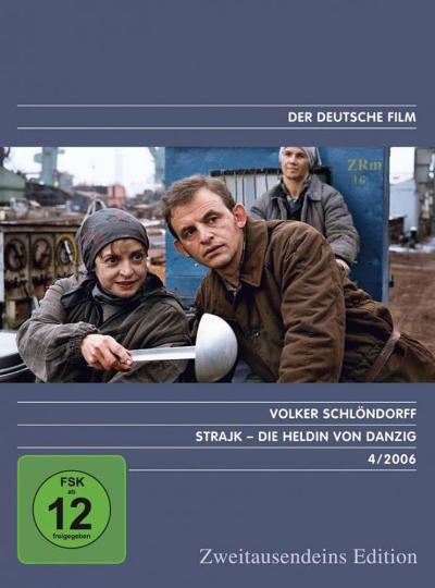 Strajk. Die Heldin von Danzig. DVD.