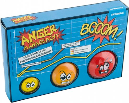 Anti-Stress-Ball, 3er-Set.
