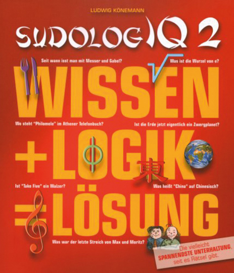 SudologIQ. Wissen + Logik = Lösung. Band 2.
