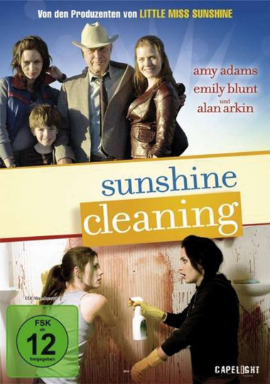 Sunshine Cleaning. DVD.