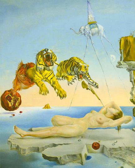 Surrealismus in Paris. Dalí, Magritte, Miró.