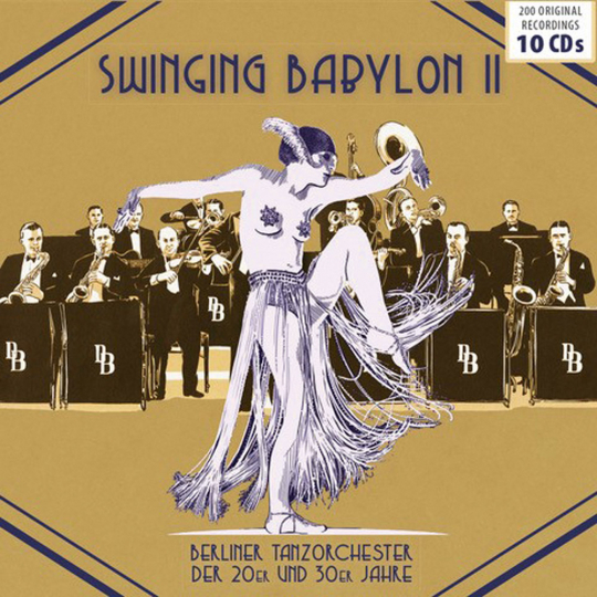 Swinging Babylon. Vol.2. 10 CDs.