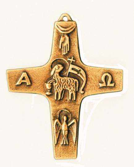 Symbolkreuz Alpha-Omega