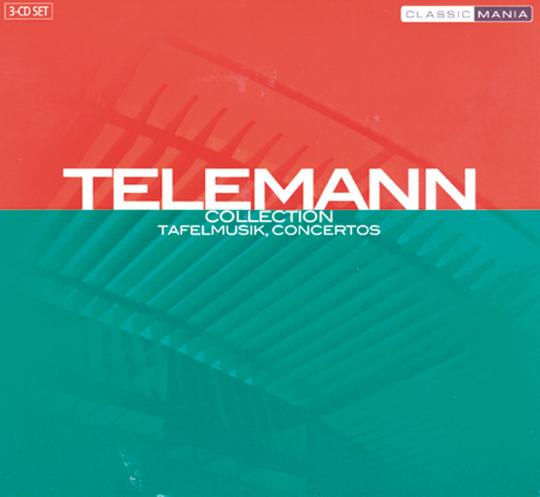 Tafelmusik, Konzerte 3 CDs