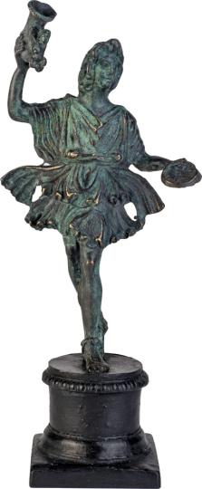 Tanzender Lar. Römisch, um 250 n Chr.
