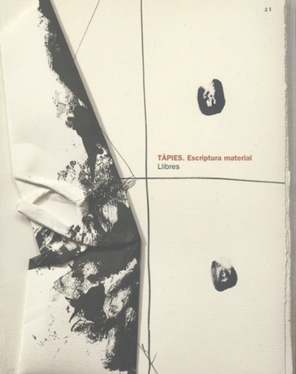 Tàpies. Künstlerbücher. Llibres..