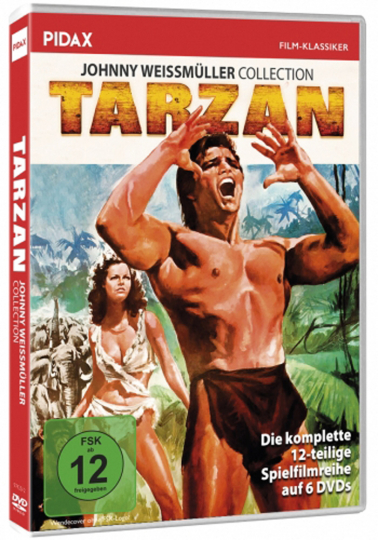 Tarzan - Johnny Weissmüller Collection. 6 DVDs.