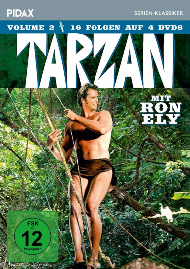 Tarzan (Ron Ely) Vol. 2. 4 DVDs.