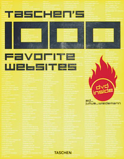 Taschen's 1000 Favorite Websites (+ DVD)