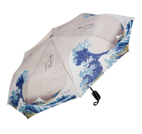 Taschenschirm mit Kunst Hokusai.