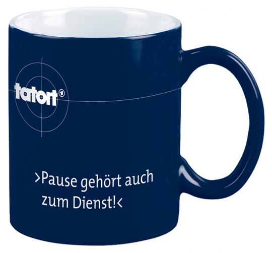 Tatort Tasse. »Pause gehört auch zum Dienst!«