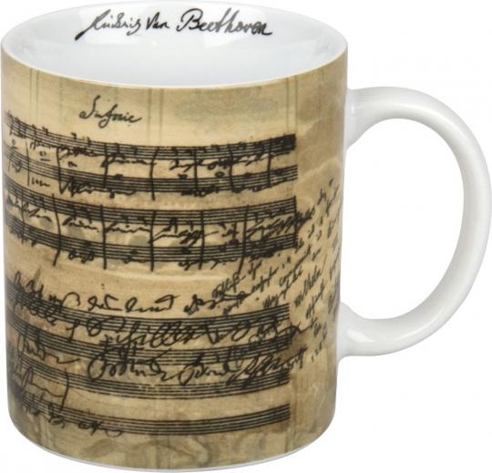 Tasse »Beethovens 9. Sinfonie«.