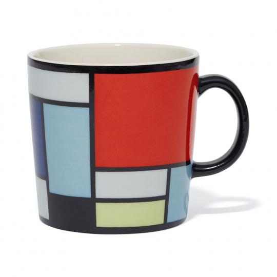 Tasse »Piet Mondrian«.