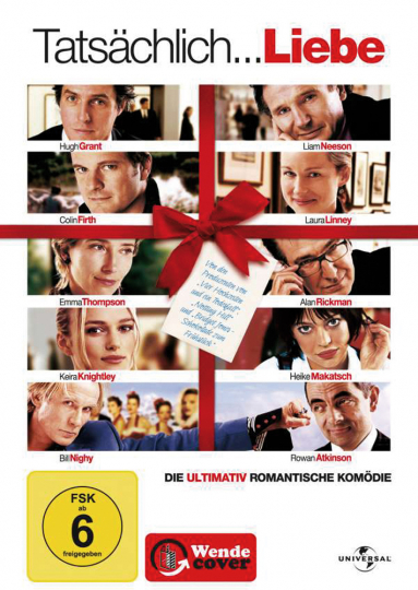 Tatsächlich Liebe. DVD.