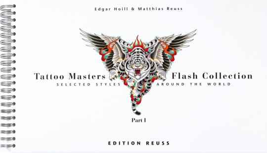 Tattoo Masters Flash Collection Part 1. Selected Styles around the World.