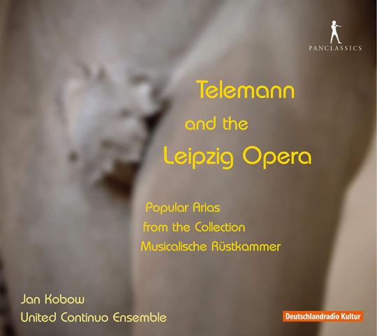 Telemann & die Leipziger Oper. CD.