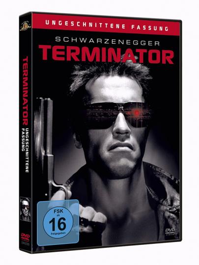 Terminator I. Uncut. DVD.