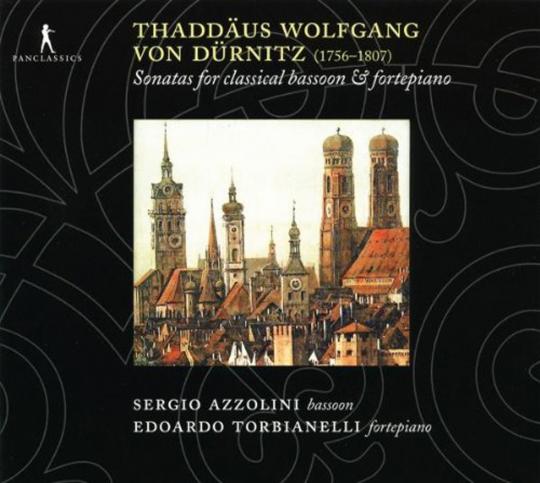 Thaddäus Wolfgang von Dürnitz. Sonaten für Fagott & Klavier Nr.1-6. CD.