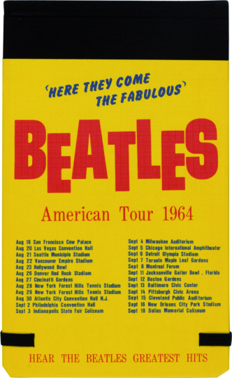 The Beatles 1964 Collection Specialty Tagebuch.