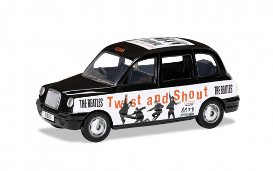 The Beatles London Taxi »Twist And Shout«.