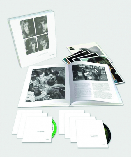 The Beatles. White Album. Limited-Super-Deluxe-Edition. 6 CDs, 1 Blu-ray Audio.