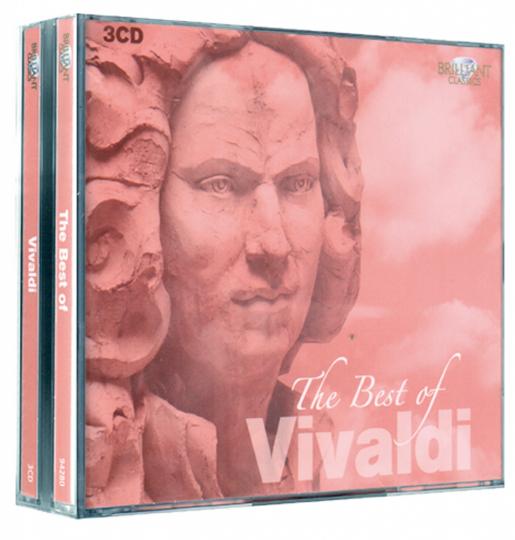 The Best Of Vivaldi. 3 CDs.