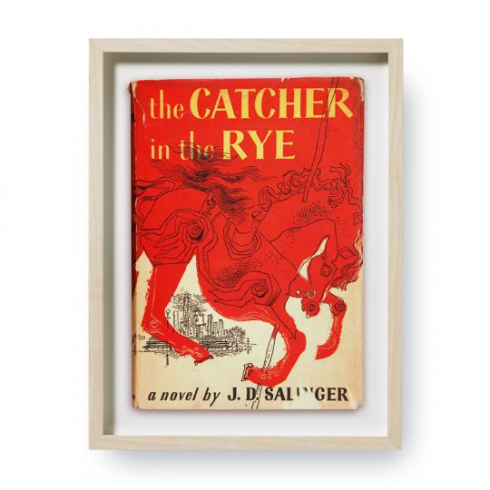 The Catcher in the Rye. Erstausgaben Buchcover. Kunstdruck.