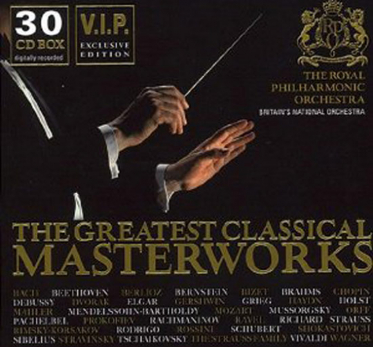 The Greatest Classical Masterworks. V.I.P. Exclusive Edition.