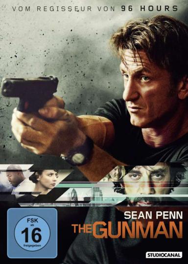 The Gunman. DVD.