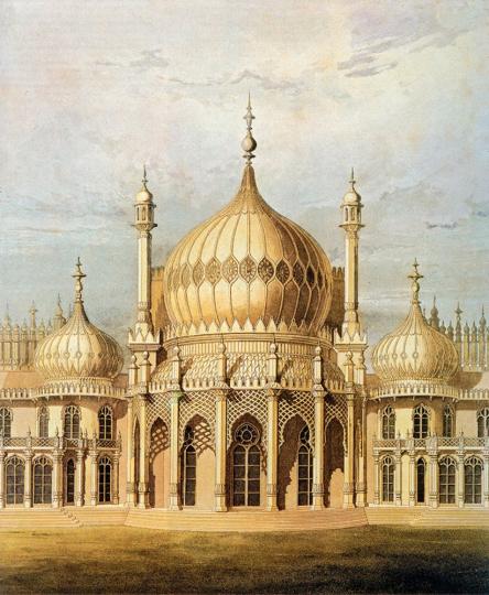 The Imaginary Orient. Fantastischer Orient. Exotische Gebäude des 18. und 19. Jahrhunderts in Europa.