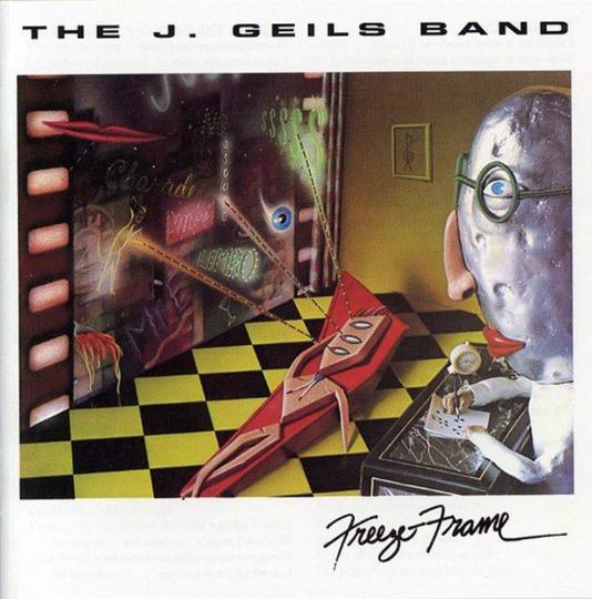 The J. Geils Band. Freeze Frame. CD.