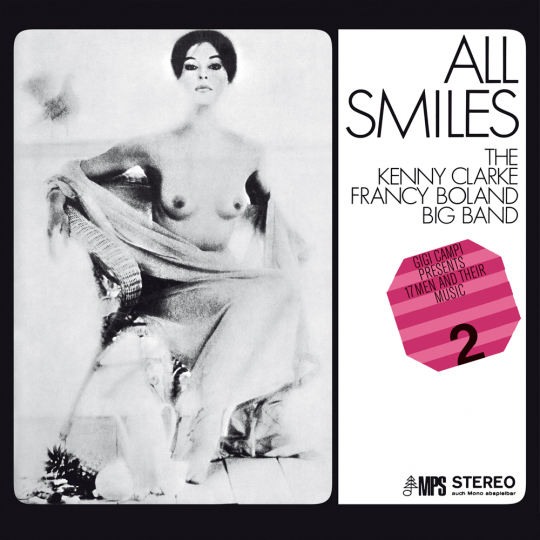 The Kenny Clarke Francy Boland Big Band. All Smiles. CD.