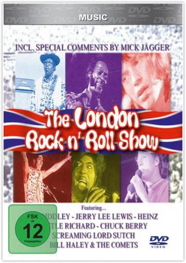The London Rock'n'Roll Show - 05.08.1972. DVD.
