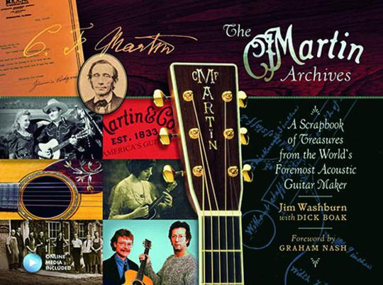 The Martin Archives. Ein Album voller Schätze aus dem Archiv des weltweit bedeutsamsten Akkustikgitarrenbauers. Mit Faksimile-Elementen.