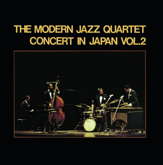 The Modern Jazz Quartet. Concert In Japan 1966 Vol. 2. CD.
